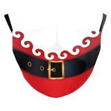 Le masque de protection d'impression numérique 3D adulte de Noël peut mettre le masque facial de filtre PM2.5