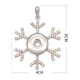 Pendentif en ruban de Noël avec boutons-pression pour bijoux de style 20MM
