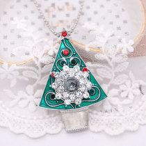 Christmas Necklace 60cm chain fit 20MM chunks snaps jewelry