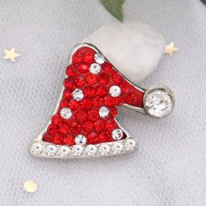 Christmas Single molding chunks with Clay spot rhinestone