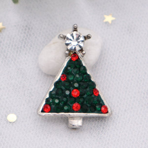 Weihnachten Single Moulding Chunks mit Clay Spot Strass