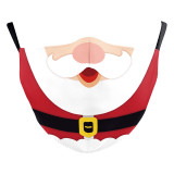 MOQ10 Christmas Adult 3D digital printing protective mask can put PM2.5 filter  face mask