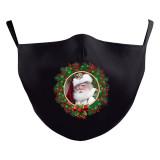 Le masque de protection d'impression numérique 10D adulte de Noël MOQ3 peut mettre le masque facial de filtre PM2.5