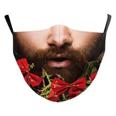 Le masque de protection d'impression numérique 10D adulte MOQ3 peut mettre le masque facial de filtre PM2.5