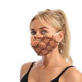 MOQ10 nouveau masque d'impression à la mode anti-poussière oreille suspendue réglable double couche masque de coton adulte