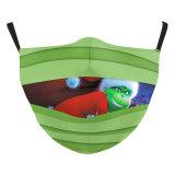 MOQ50 adulte noël nouveau design personnalisé masque de protection d'impression numérique 3D peut mettre filtre PM2.5 masque facial adulte