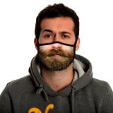 MOQ10マスク洗える漫画綿マスク外国貿易マスクファッション大人のマスク
