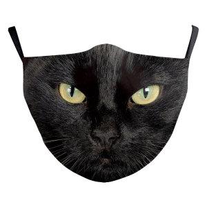 MOQ10 Adult 3D digital printing protective mask can put PM2.5 filter  face mask