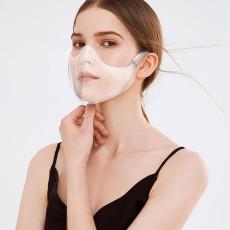 MOQ10 Nueva máscara protectora para PC, máscara transparente, protector de aislamiento a prueba de salpicaduras, protector facial HD, antivaho