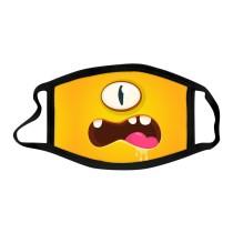 MOQ10アダルトマスクプリントコットン再利用可能フェイスマスク
