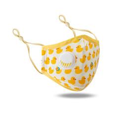 MOQ10 Kinder mit Atemventil PM2.5 Gesichtsmaske alle Baumwolle Cartoon einstellbar waschen dreidimensionale Staubverhütung und Trübungsverhütung
