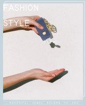 MOQ10 Gel desinfectante de manos desinfectante llave hebilla paquete de aleación de cuero Colgante (con botellas)