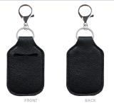 MOQ10 Hand sanitizer gel disinfectant, key buckle leather alloy sports ball, football basketball baseball bag Pendant (with bottles)