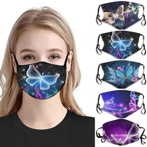 MOQ10 Adult 3D digital printing protective mask