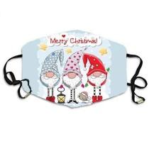 MOQ10 Máscara protectora de impresión digital 3D para adultos
