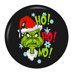 20MM Christmas geek Painted enamel metal snap buttons