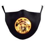 MOQ10 Children 3D digital printing protective mask can put PM2.5 filter face mask