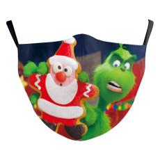 MOQ10 Weihnachtskinder 3D-Digitaldruck Schutzmaske kann PM2.5 Filter Gesichtsmaske setzen