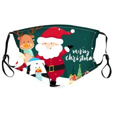 La máscara protectora de la impresión digital 10D de los niños de la Navidad MOQ3 puede poner la mascarilla del filtro PM2.5