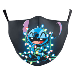 MOQ50 Children New customized design 3D digital printing protective mask can put PM2.5 filter Children  face mask