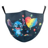 MOQ50 enfants nouveau design personnalisé masque de protection d'impression numérique 3D peut mettre le filtre PM2.5 masque facial pour enfants