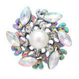 20MM design snap Colorful alloy Plated With rhinestones charms snaps jewerly