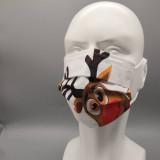 MOQ50 jetable adulte non-tissé tissu fondu soufflé couche masque facial en tissu épaissi trois couches anti-brume respirant masque de couleur anti-poussière