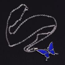 Collier papillon en acier inoxydable sensible à la température