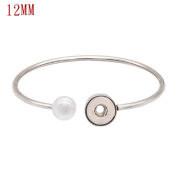 1 buttons snaps Stainless steel bracelet fit 12mm snaps chunks