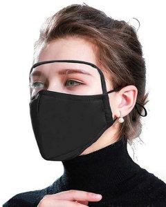 MOQ10 máscara de lente de protección ocular para adultos máscara protectora de algodón puro máscara de respiración de filtro reemplazable