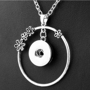 Collier argent 60cm chaîne fit 20MM morceaux de bijoux
