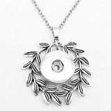 Halskette Silber 60cm Kette fit 20MM Brocken schnappt Schmuck