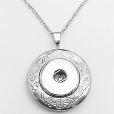 Phase Box tree Necklace silver  fit 20MM chunks snaps jewelry