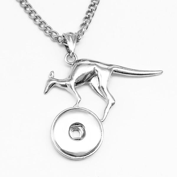 Halskette Silber fit 20MM Brocken schnappt Schmuck