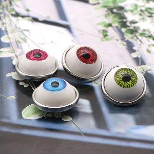 Металлические посеребренные браслеты для глазного яблока 20 мм, ювелирные изделия