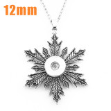 Necklace 46cm chain fit 12MM chunks snaps jewelry
