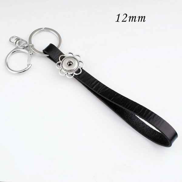 Key buckle snap sliver  Leatherwear Pendant   fit 12MM snaps style jewelry