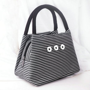Snaps Go out bag shopping bag Bento bag fit 18mm chunks