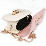 Paquete Snaps Diagonal Mini Bolso con cadena de perlas para trozos de 18 mm