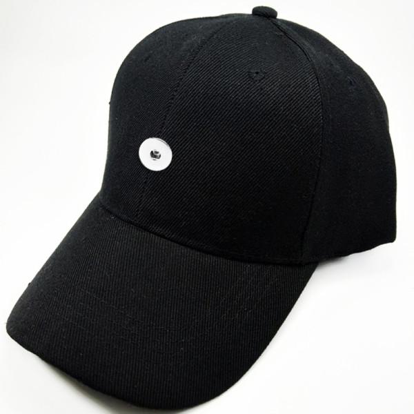 Летняя шляпа от солнца Бейсболка солнцезащитная кепка 18мм кнопка бежевого цвета