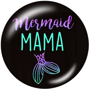 20MM Mother's Day Print glass snaps buttons