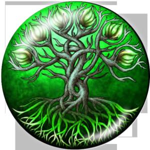 20 MM Lebensbaum Drucken Sie die Druckknöpfe aus Glas
