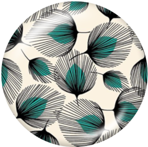 20-mm-Design Druckknöpfe aus Glas drucken