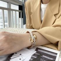 Böhmisches mehrlagiges Lederarmband Mode neue farblich passende Magnetschnalle Dünnes Armband