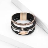 Bohemian Holiday Bracelet Shell mehrschichtiges Leder CLASP BRACELET