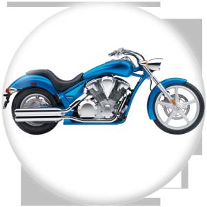 Boutons de pression en verre d'impression de moto de voiture 20MM