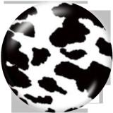 20MM Leopard Print Print glass snaps buttons