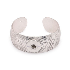 1 buttons snap silvery bracelet fit snaps jewelry