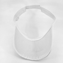 Sommersonnenhut Tennismütze Sonnenschutz fit 18mm Druckknopf beige