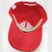 Sommersonnenhut Baseballkappe Sonnenschutz fit 18mm Druckknopf beige